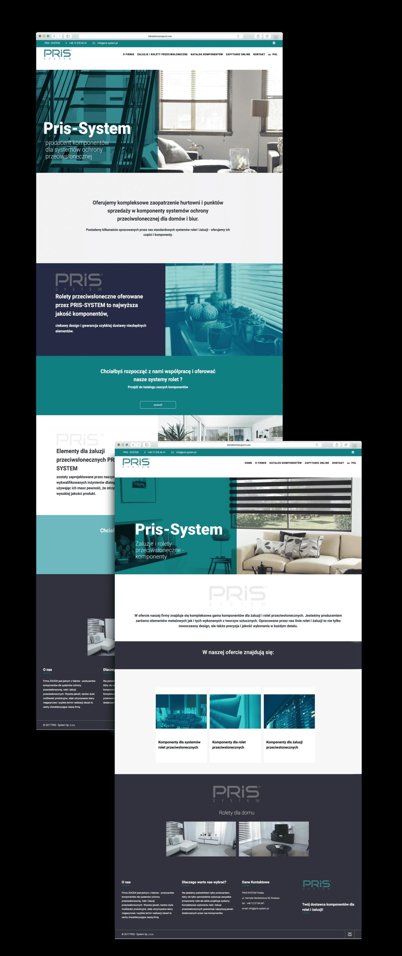 projekt i wykonanie strony www helt agencja brandingowa kraków